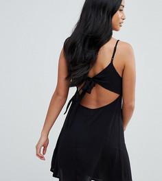 Летнее платье мини ASOS PETITE - Черный