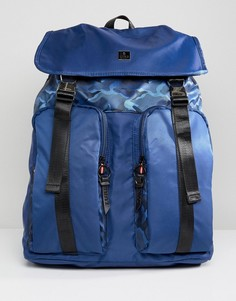 Темно-синий рюкзак с двумя карманами Luke Sport Keegan - Темно-синий