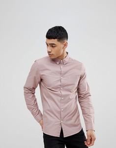 Розовая оксфордская рубашка New Look - Розовый