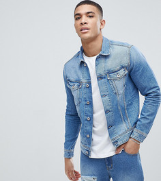 Светлая джинсовая куртка Replay - Синий