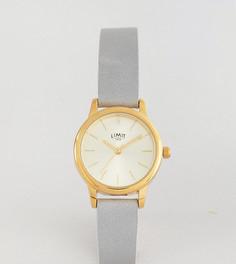 Часы 26 мм с серым ремешком Limit эксклюзивно для ASOS - Серый