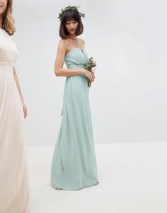 Платье макси бандо TFNC - Зеленый