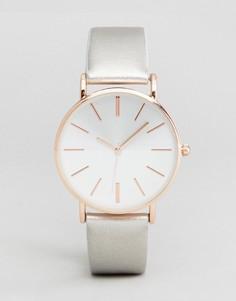 Серебристые часы New Look - Серебряный