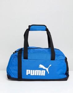 Синяя спортивная сумка Puma Phase 07494227 - Синий