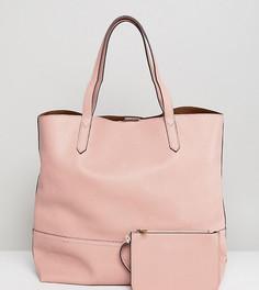 Розовая сумка-тоут Street Level - Розовый