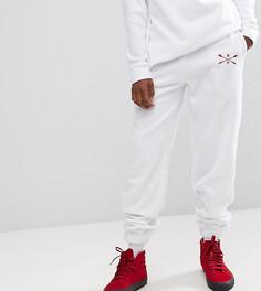 Белые флисовые брюки Reclaimed Vintage Inspired - Белый