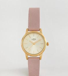 Часы 26 мм с розовым ремешком Limit эксклюзивно для ASOS - Розовый