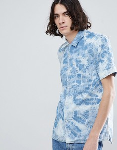 Мраморная рубашка с короткими рукавами Levis - Синий Levis®