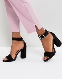 Черные босоножки на блочном каблуке RAID Imani - Черный