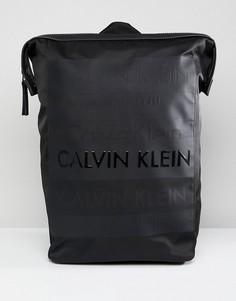 Рюкзак с логотипом Calvin Klein - Черный