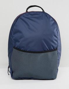 Рюкзак в стиле милитари с карманом Weekday - Черный