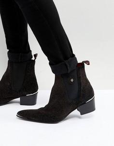 Ботинки с блестками Jeffery West Sylvian - Красный