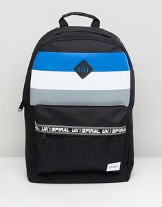 Рюкзак в полоску Spiral - Черный