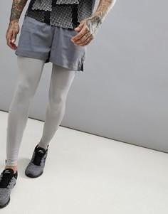 Серые короткие спортивные шорты ASOS 4505 - Серый