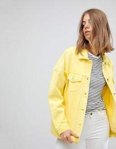 Окрашенная джинсовая куртка Vero Moda - Желтый