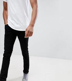 Черные джинсы скинни Lee TALL Luke - Черный