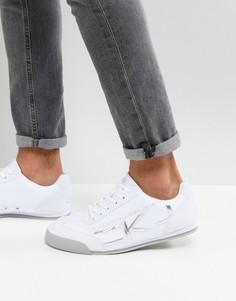 Кроссовки с логотипом Calvin Klein Cale Jeans - Белый