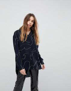 Рубашка с принтом Weekday - Мульти