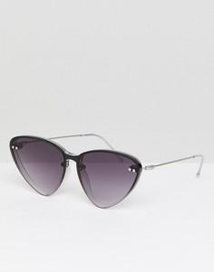 Черные солнцезащитные очки «кошачий глаз» Vans - Черный Spitfire
