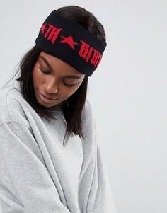 Повязка на голову с логотипом Gigi Hadid - Черный Tommy Hilfiger