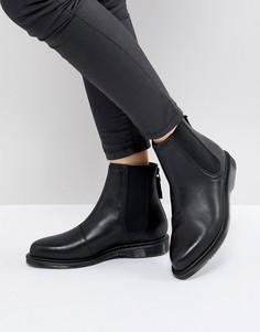 Черные кожаные ботинки челси Dr.Martens Zillow - Черный