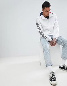 Белая куртка с капюшоном и логотипом на рукавах Tommy Jeans Capsule - Белый