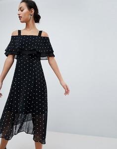 Платье в горошек Coast Nadine - Мульти