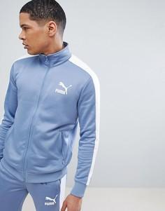 Синяя спортивная куртка Puma Archive T7 57265875 - Синий