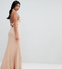 Платье с открытой спиной Jarlo Petite - Розовый