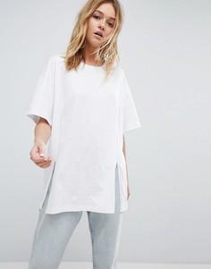 Длинная футболка Cheap Monday - Белый