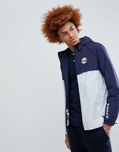 Легкая 2-цветная куртка с капюшоном Timberland - Синий
