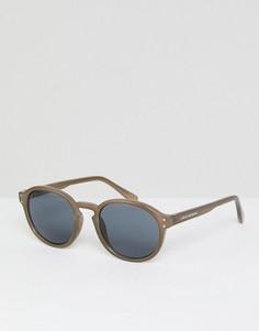 Круглые солнцезащитные очки в стиле ретро Cheap Monday - Зеленый