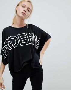Оверсайз-футболка с логотипом Dr Denim - Черный