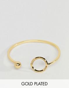 Позолоченный браслет Pieces - Золотой