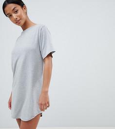 Платье-футболка Boohoo Petite - Серый