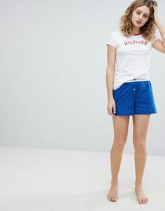Хлопковые шорты Tommy Hilfiger - Синий