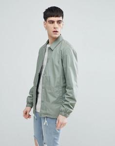 Спортивная куртка Selected Homme - Зеленый