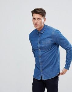 Джинсовая рубашка New Look - Синий