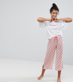 Пижама со штанами Hey Peachy - Розовый
