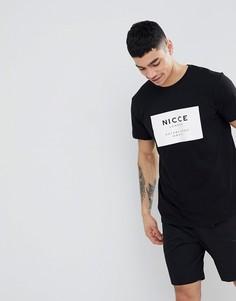 Футболка с логотипом Nicce London - Черный