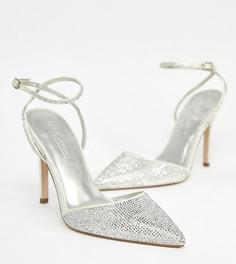 Туфли на высоком каблуке с декоративной отделкой ASOS DESIGN - Кремовый