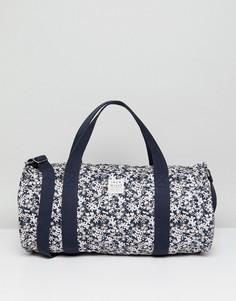 Спортивная сумка с цветочным принтом Jack Wills - Темно-синий