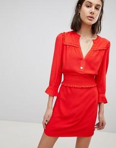 Свободное платье BA&SH - Красный Ba&Sh