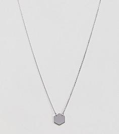 Серебряное ожерелье с подвеской DesignB London - Серебряный