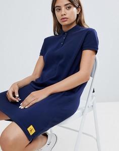 Платье с воротником поло Calvin Klein Jeans - Черный