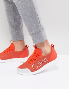 Сетчатые кроссовки Calvin Klein Ron - Белый