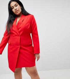Платье-смокинг Unique 21 Hero Plus - Красный