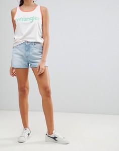 Джинсовые шорты Wrangler - Синий