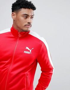 Красная спортивная куртка Puma Archive T7 57265882 - Красный