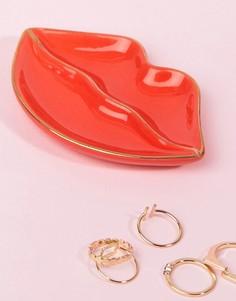 Подставка под украшения в форме губ Sass & Belle - Мульти